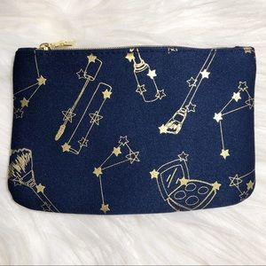 Ipsy Glam Bag 💄 Astrology + Gold Stars Makeup Bag